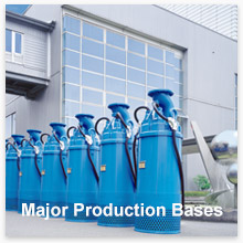 Major Production Bases