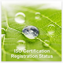 ISO Certification Registration Status