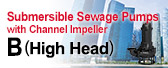Submersible Sewage Pumps B (High Head)